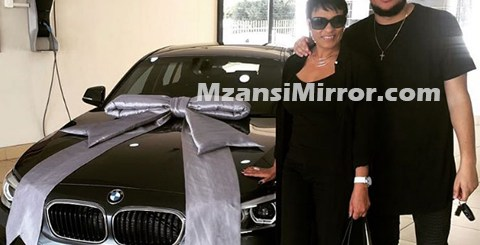 AKA Buys His Mom Lynn Forbes New car