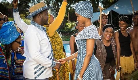 Isidingo: Lerato And Sechaba's Sotho/Tswana Wedding [Photos]