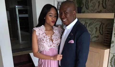Julius Malema and wife Mantwa Matlala