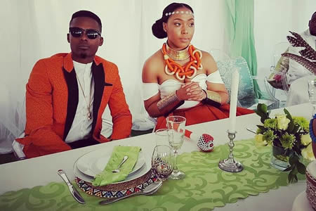 Dumi Masilela and Simphiwe Ngema wedding