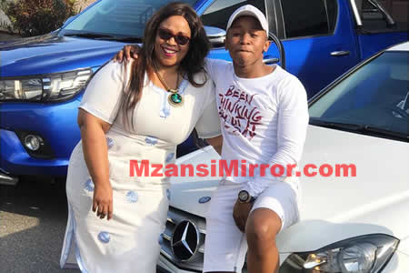 Junior De Rocka buys his mother with a brand new car Mercedes-Benz