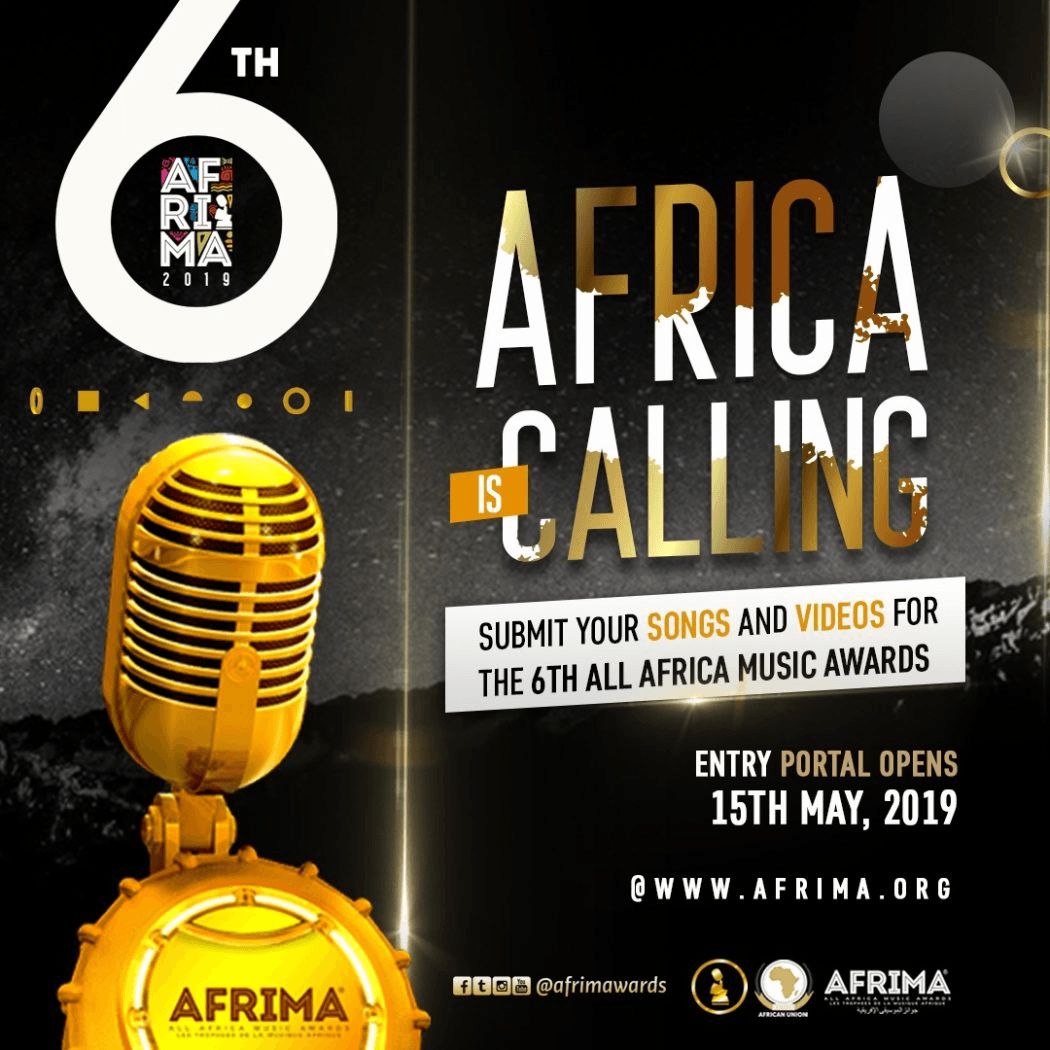 6th AFRIMA Opens Entry Submission of Song and Video for 2019 Awards