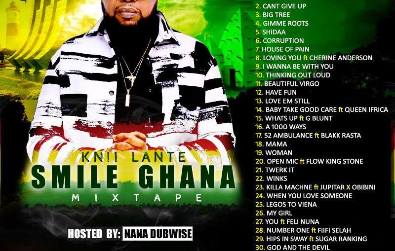 Knii Lante Smile Ghana Mixtape