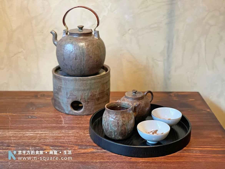 小隱茶庵的茶具