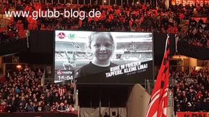 Stadion Nürnberg trauert um die kleine Lina DIPG