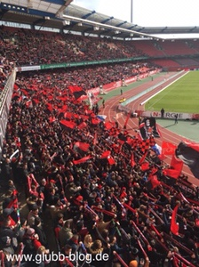 Ultras des FCN im Max-Morlock-Stadion