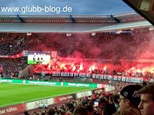 Begal-Fackeln bei FCN -Braunschweig
