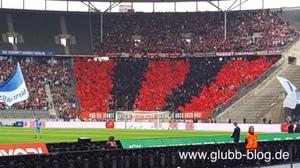 FCN-Fans bei Hertha BSC Berlin