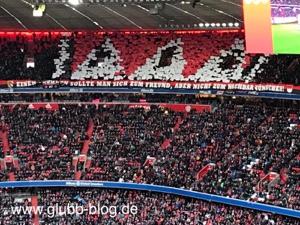 Frankenrechen der FCN-Fans in München