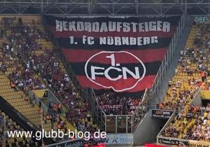 Rekordaufsteiger FCN in Dresden