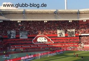 Max Morlock: Deutscher Meister, Weltmeister, Rekordtorschütze, ein Nürnberger Bub?...und für immer Namensgeber dieses Stadions?