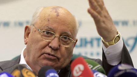 """""""Das könnte das Land destabilisieren"""": Gorbatschow fordert Neuwahlen"""