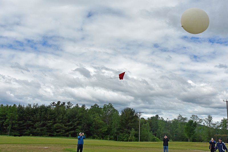 High-Altitude Balloon 1 Launch!