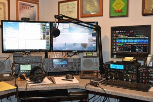 HF Chat Net Station