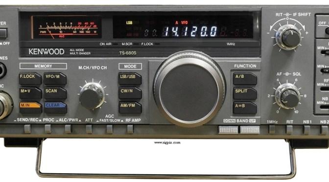 IARU Contest Radio - Kenwood TS-680