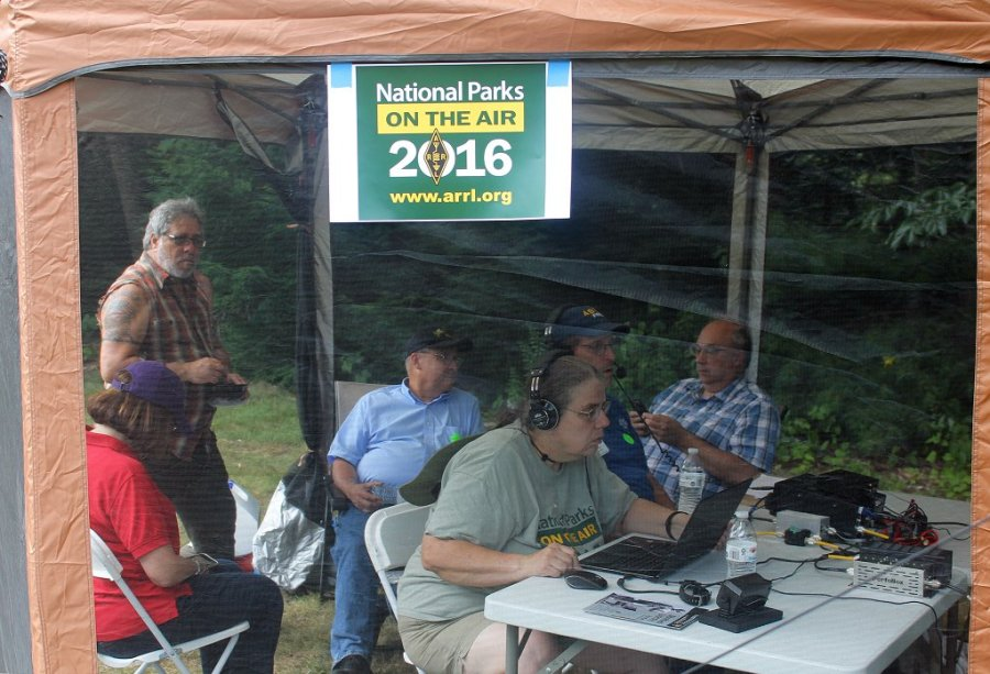 Nashua Area Radio Club Operating Portable In NPOTA NS60