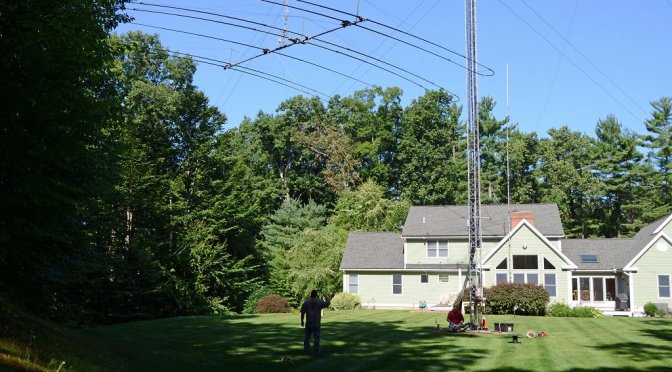 Antenna Projects - Antenna Coming Down The Tram Line