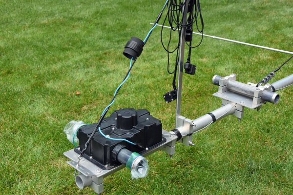 Antenna Projects - Rebuilt Stepper Motors Installed