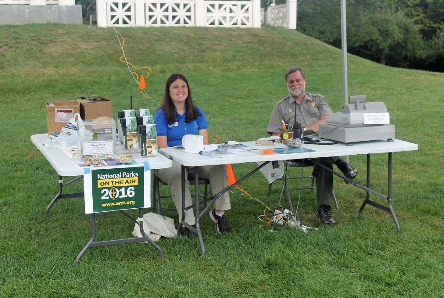 Saint-Gaudens Park Staff Supporting NPOTA