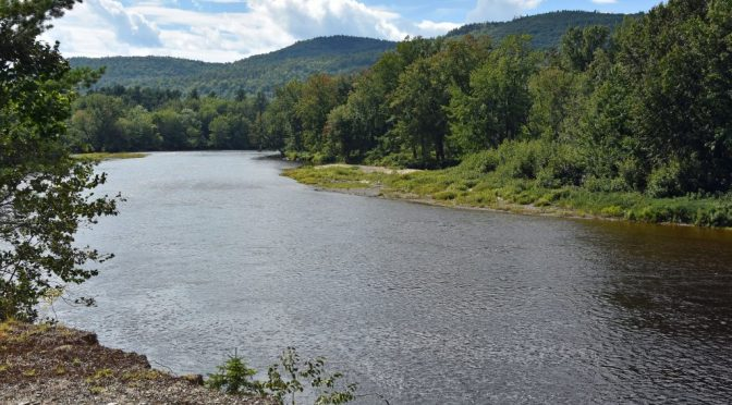 Eastern Branch of the Penobscot River in Katahdin Woods and Waters NM NPOTA