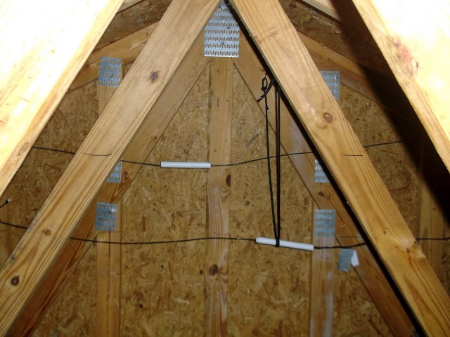 attic roof reinforcement moxons in the attic part 1 nashua area radio society