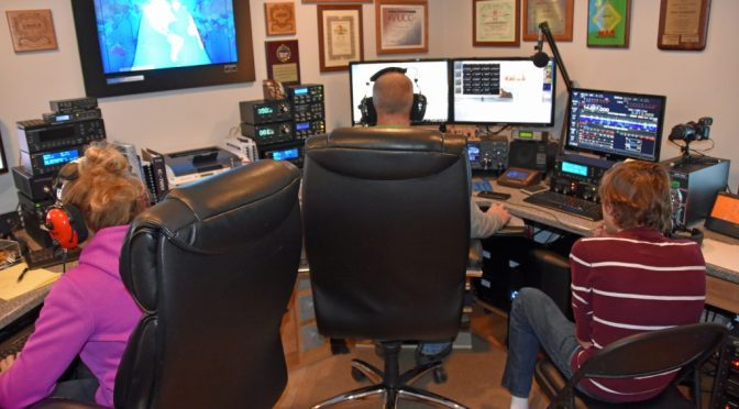 N1FD Multi-Op in CQ WW DX Ham Radio Contest