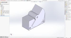 Homebrew Variable Capacitor in SolidWorks