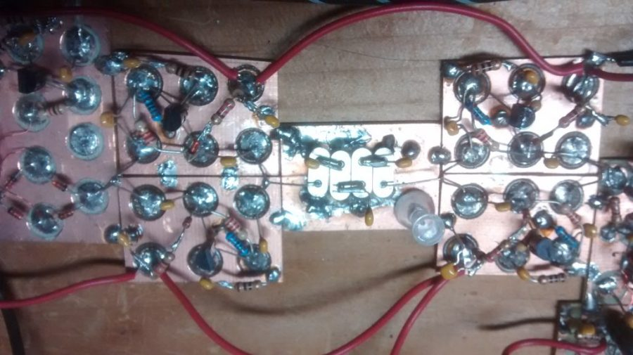 BitX 10 MHz crystal filter