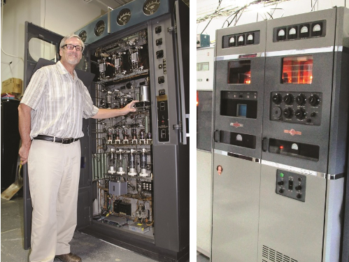 A serious collector of Radio Transmitters