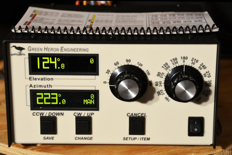 Green Heron RT-21 AZ/EL Rotator Controller