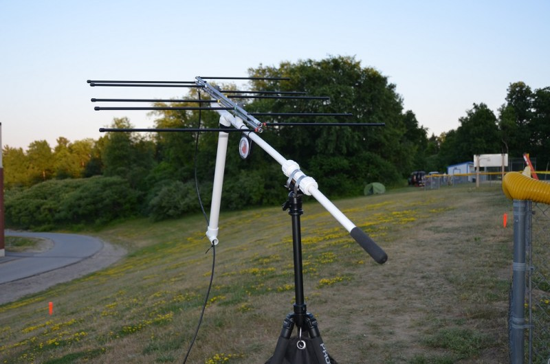 Improved Portable Satellite Station Antenna Support