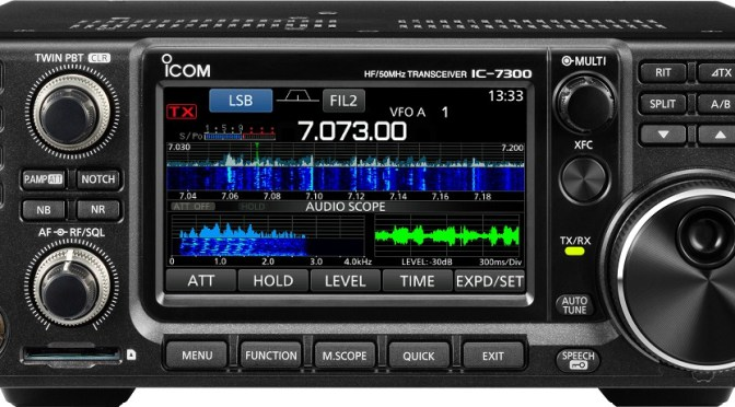 HF Transceiver - IC-7300 FSK RTTY