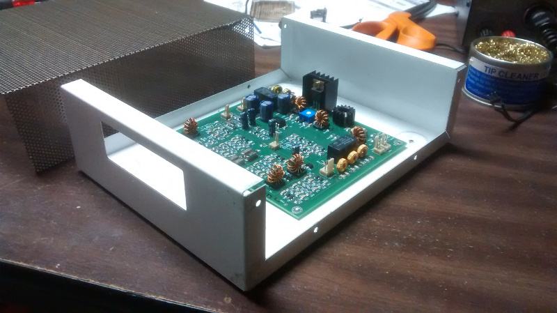 BitX-40 Enclosure with Board
