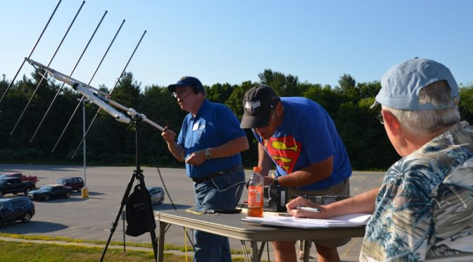 Field Day Sat Station
