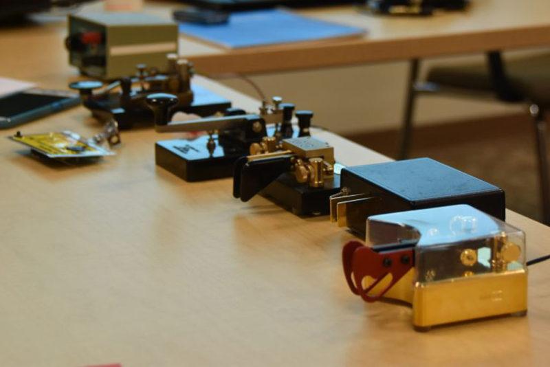 Learning Morse Code - Keys and Paddles