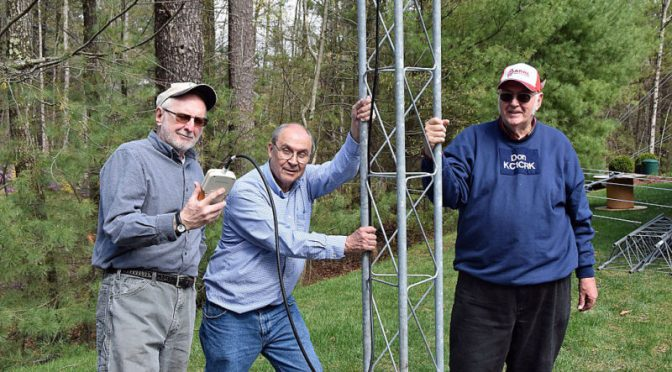 Field Day 2017 Prep – Yagi Building Party!