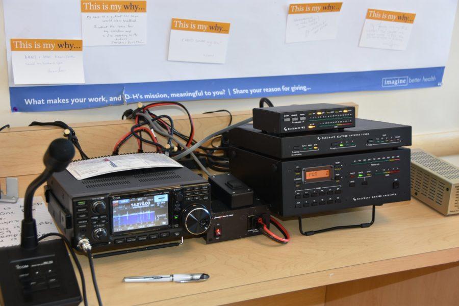 Amateur Radio License Class - GOTA Station