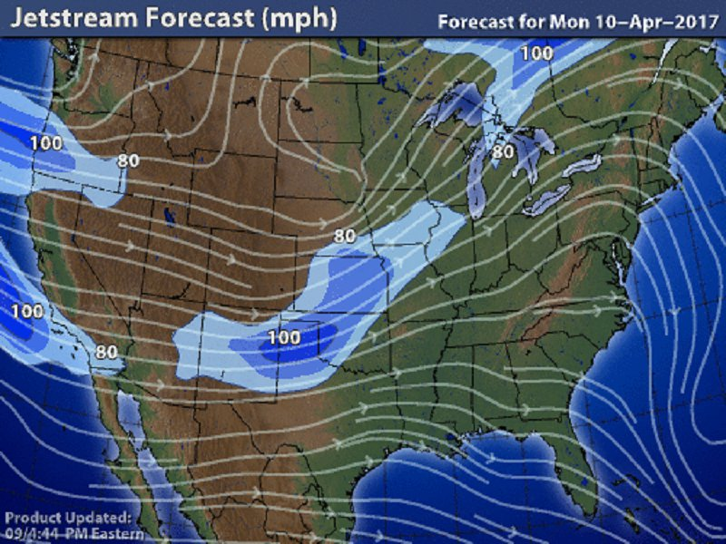 STEM Learning - Jetstream Forecast