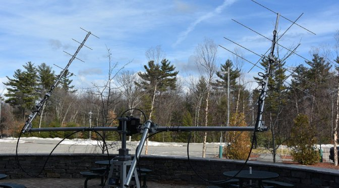 LEO Satellite Contacts - Antennas