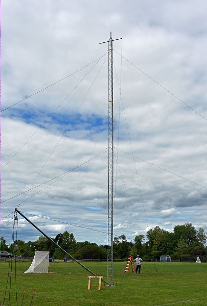 Tower Test - The Tower Is Up!