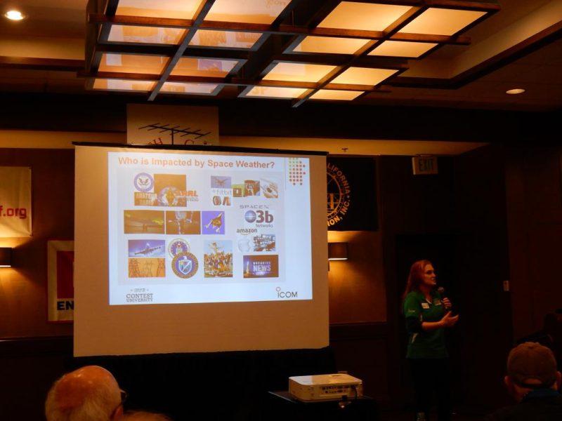 Dayton Hamvention - Dr. Tamitha Skov teaching us about Space Weather
