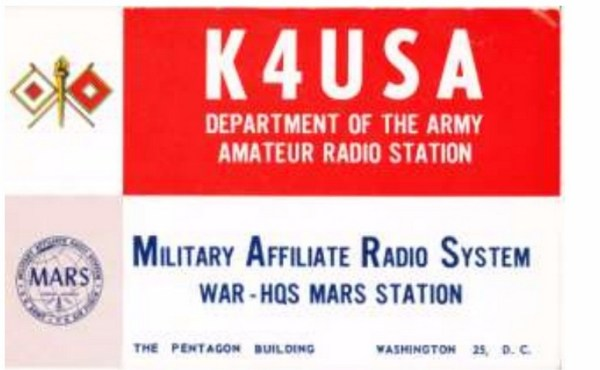 QSL Card - K4USA