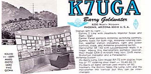 QSL Card - K7UGA