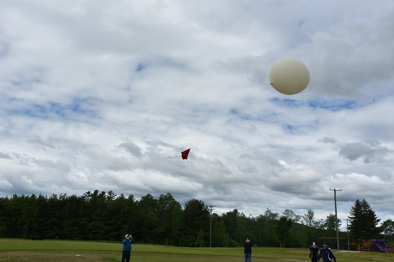High-Altitude Balloon Launch!