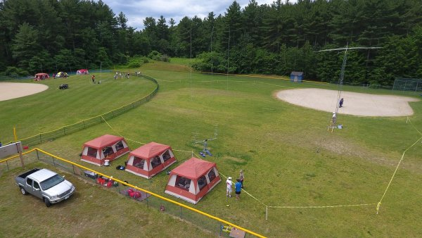 Field Day 2017 from Desmond's Drone