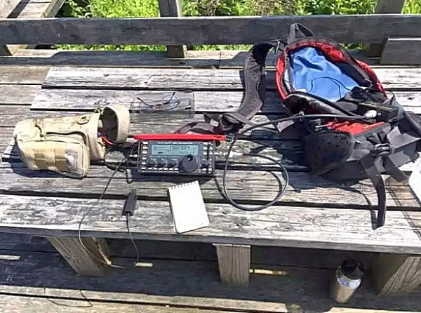 Seashore QRP Portable Rig
