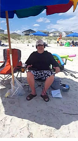 Seashore QRP op