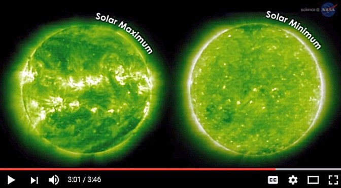 Solar Minimum Not Expected Until 2019 or 2020