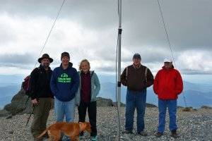 Nashua Area Radio Club Members on Mt. Washington