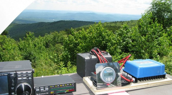 SOTA/POTA Activation on Mt. Kearsarge at Rollins State Park